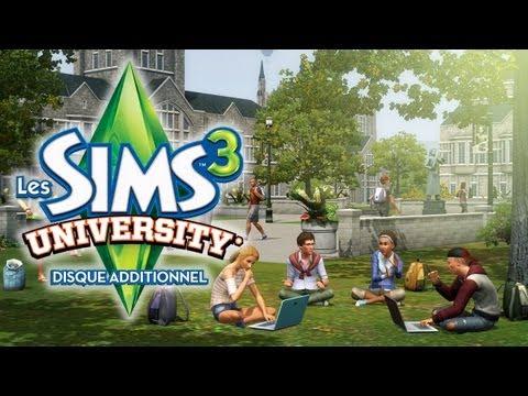 Les Sims 3 University - Trailer officiel