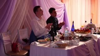 Прикольная песня невеста поет на свадьбе жениху