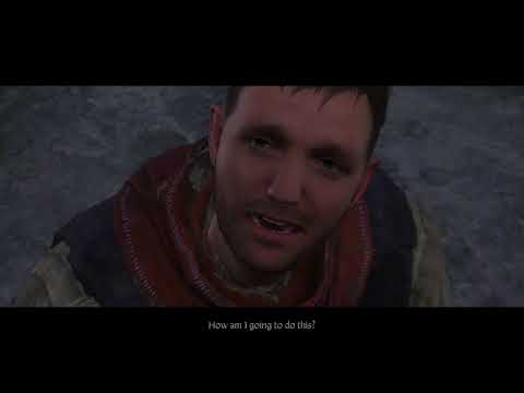 Kingdom Come: Deliverance - Homecoming: Henry Buries Parents, Runt Wants Sword Cutscene (2018)