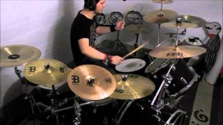 Lordi Blood Red Sandman Drum Cover