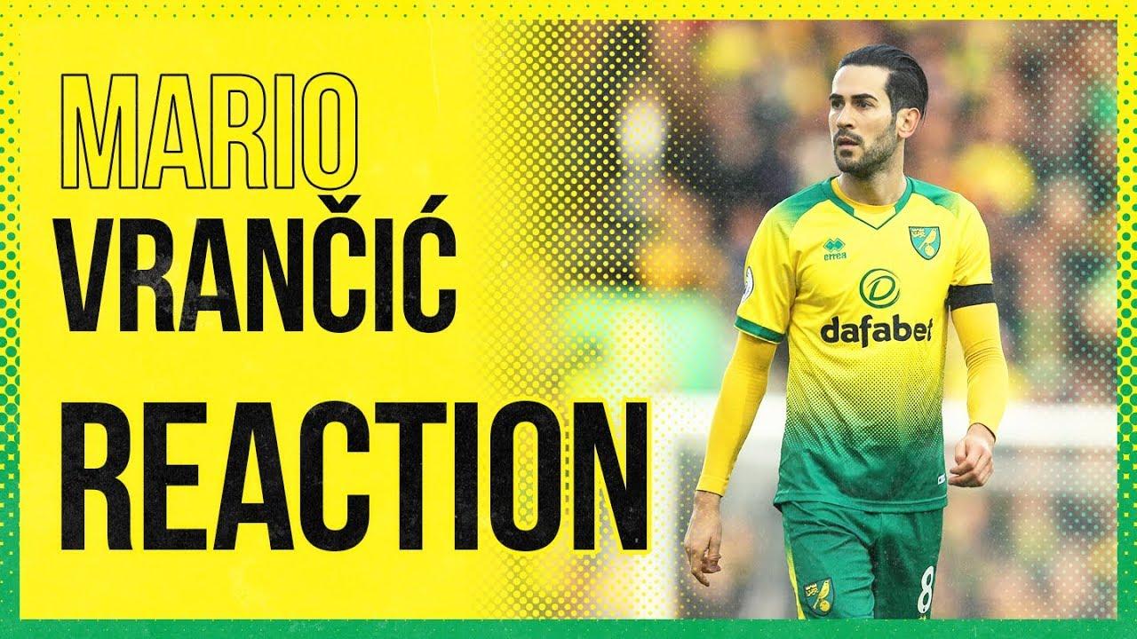 Norwich City 1-2 Sheffield United | Mario Vrančić Reaction