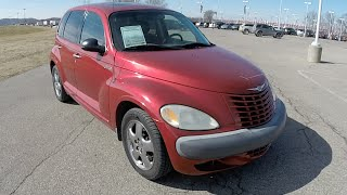 2002 Chrysler PT Cruiser Limited Edition Red | 17710C