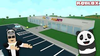 Panda Süpermarket Açıyor!! -Roblox Retail Tycoon