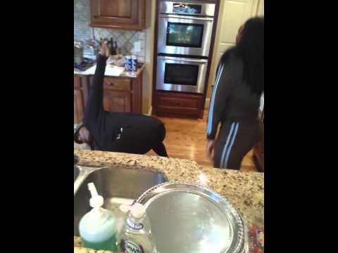Towanda And Trina Braxton Clowning!