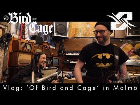 Vlog: 'Of Bird and Cage' live in Malmö (with Ron Bumblefoot Thal, Kobra Paige and Rob van der Loo)