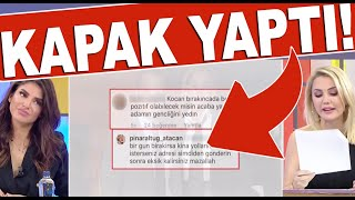 Pınar Altuğ eşi Yağmur Atacan ile yoruma böyle yanıt verdi!