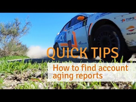 alpscontrols.com Quick Tips - How to find account aging reports.