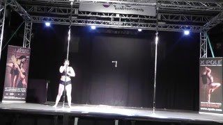 UoN Pole Dance Society: Pixie Trix's Keele Competition Performance