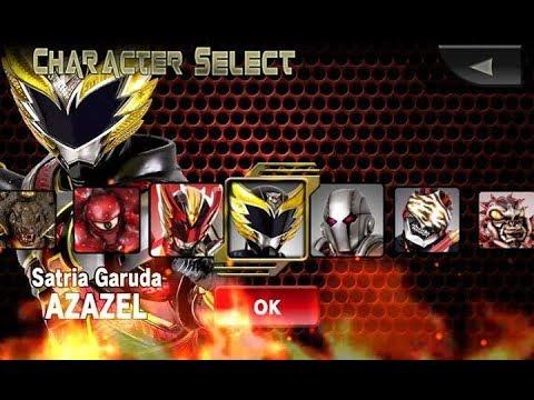 Satria Garuda Azazel Action Bima X Game Indonesia.