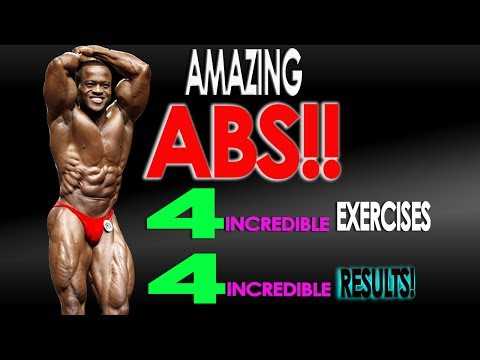 The Top 4 Effective Exercises For Six Pack Abs: Why doing a lot of sit-ups is a mistake!