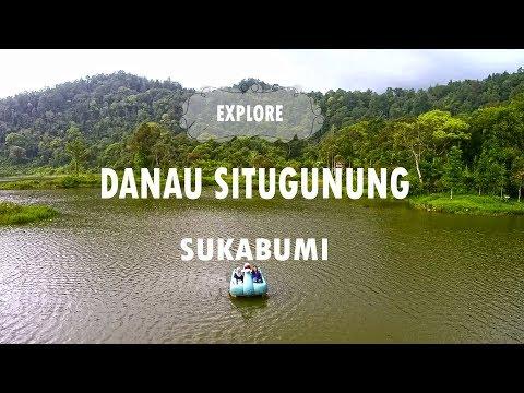 Jalan-jalan ke Danau Situgunung Sukabumi | Travel Vlog | Aerial Video