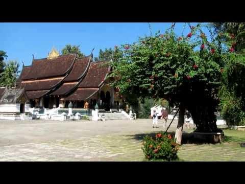 Tour of Wat Xieng Thong, Luang Prabang, Laos part 2