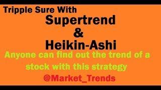 Supertrend Sureshot Strategy