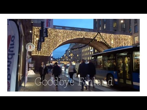 Finland Vlog #31 - Goodbye Finland + little LUSH haul
