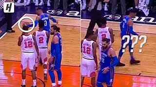 Russell Westbrook Made The Ball Disappear!