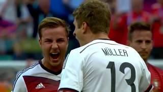 Germany vs Portugal 4:0 pepe brutal foul