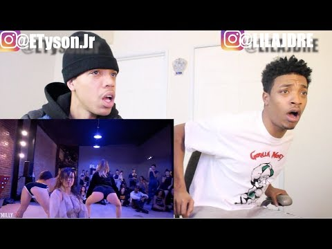 Eric Bellinger - G. O. A. T. - Choreography by Nicole Kirkland | #TMillyTV reaction by @LILAJDRE