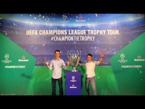 UEFA Champions League Trophy Tour 2016