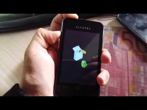Alcatel ONE TOUCH phone remove email lock & hard reset