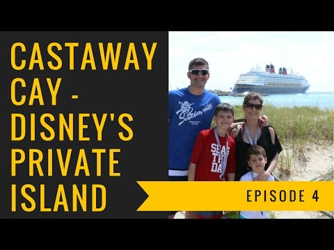 Castaway Cay - Disney's Private Island!!