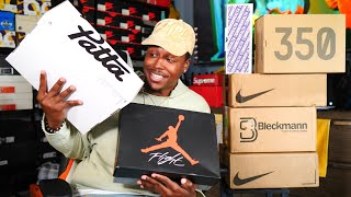 UNBOXING ONE OF THE CRAZIEST SNEAKERS OF 2019! MAJOR HEAT & EARLY PICKUPS! DON'T SLEEP!