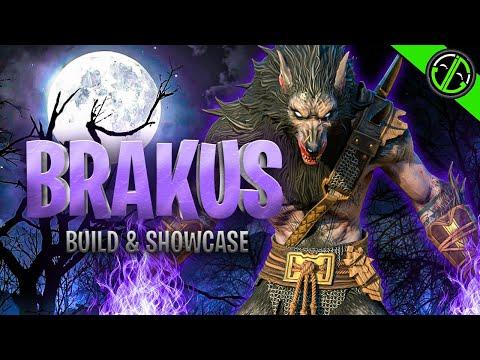 Brakus Can Absolutely SHRED!!! Gear, Masteries, & Showcase   RAID: Shadow Legends Champion Guide