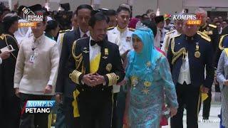 Presiden Jokowi di 50 Tahun Sultan Brunei
