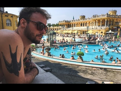 Best Thermal Bath in Budapest 🇭🇺 Tour of Széchenyi