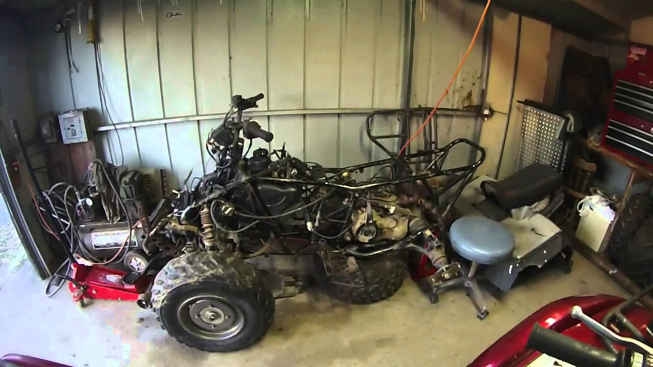 suzuki king quad 300 project part 3 fuel delivery youtube