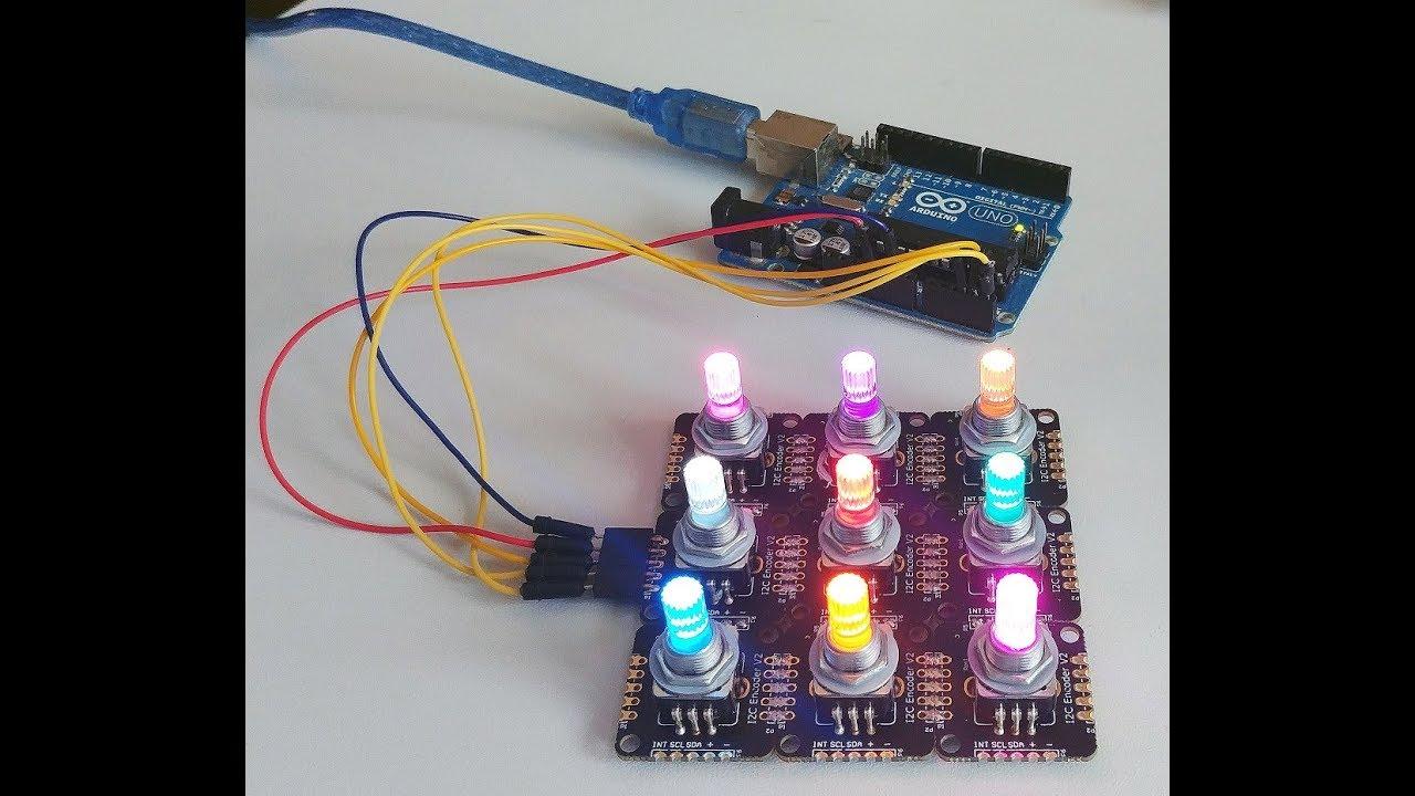 I2CEncoder V2 Connect multiple encoder on I2C bus from DUPPA