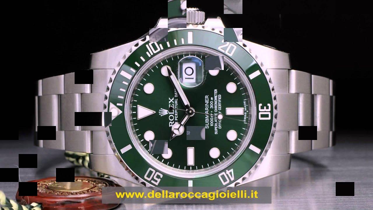 Rolex Ghiera Verde Quadrante Nero