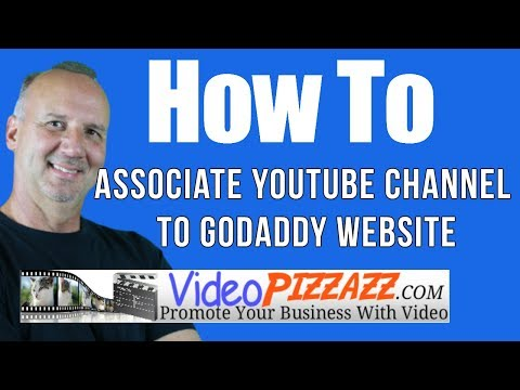 Associate YouTube Channel To GoDaddy Website – GoDaddy Domain Verification – 2017