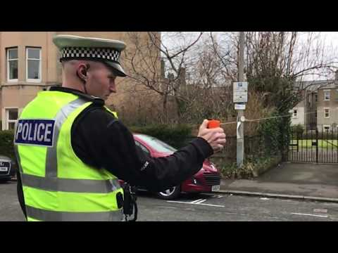 SelectaDNA Defence Spray -Police Scotland Launch  - March 18