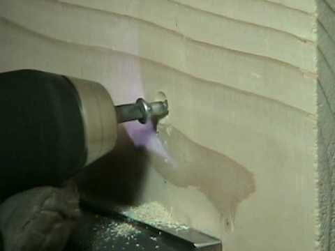 How to Countersink a Wood Screw
