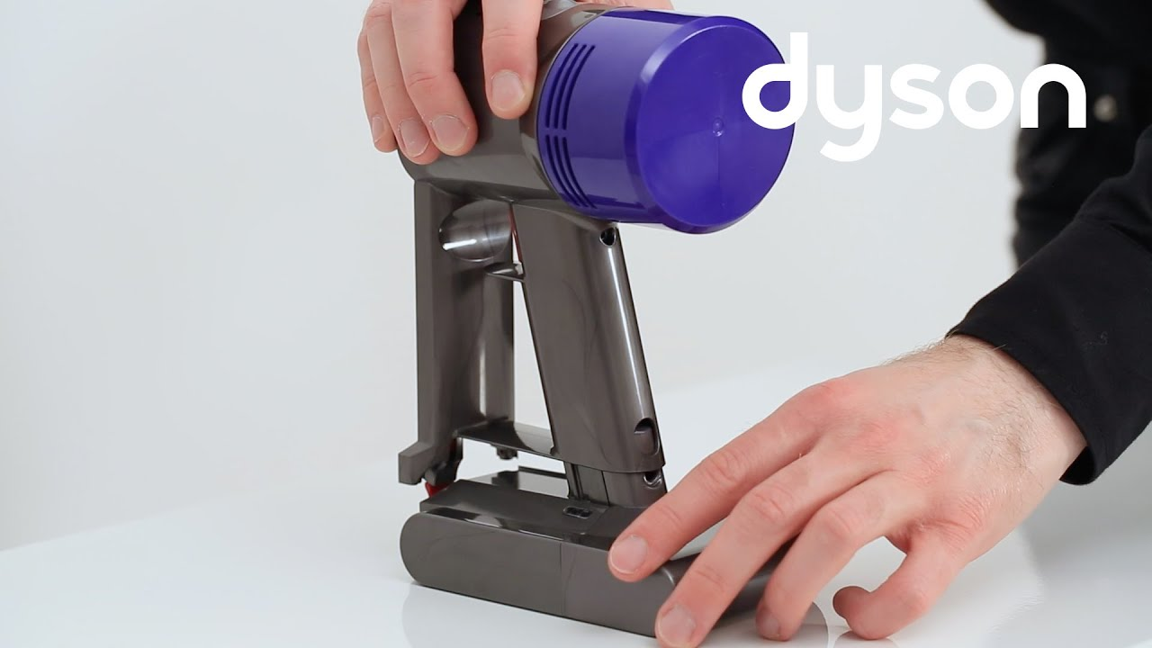 dyson v7 cord free vacuums replacing the main body uk youtube. Black Bedroom Furniture Sets. Home Design Ideas