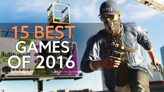 The 15 Best Pc Games Of 2016