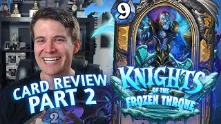 (Hearthstone) Knights of the Frozen Throne: Card Review Part 2 - Paladin, Priest and Rogue