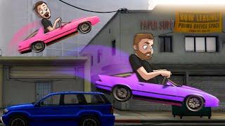 Who Could Build The Best PARKOUR CAR?! | GTA5