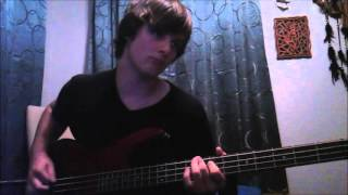 escape the fate situations bass cover