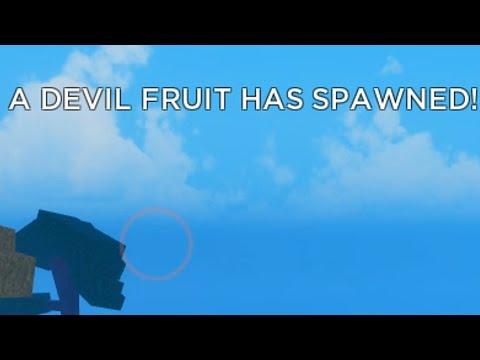 WHEN YOU FIND DEVIL FRUIT IN GRAND PIECE ONLINE