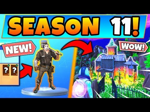 *NEW* SEASON 11 SKINS & THEME REVEALED In Fortnite! (Battle Royale Battle Pass)