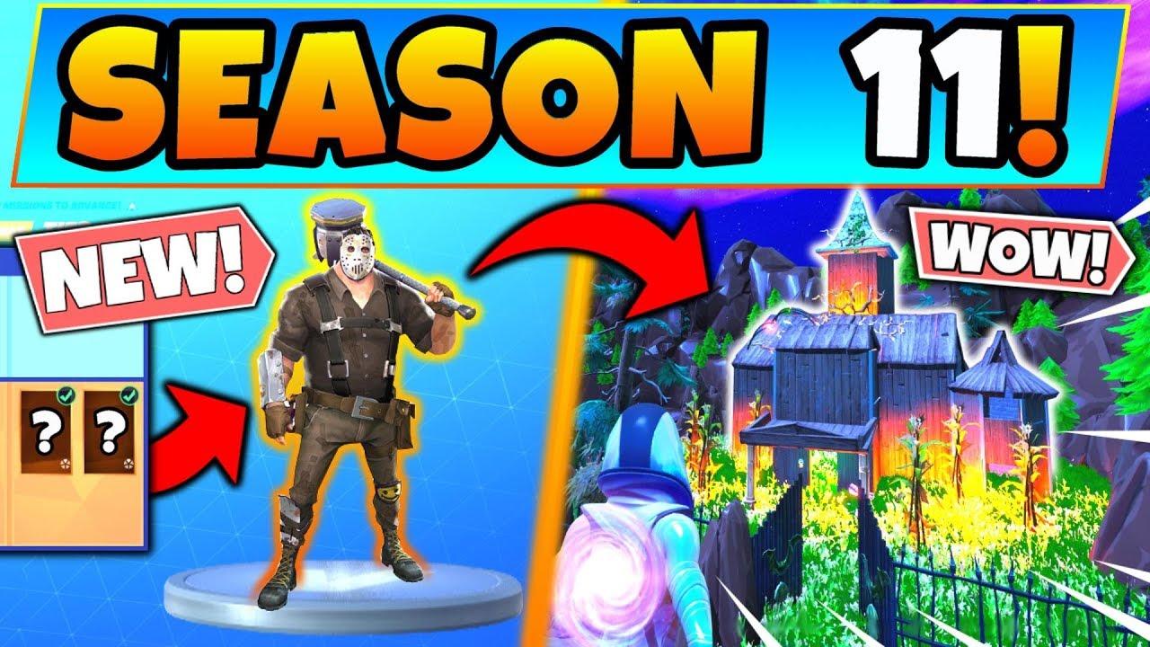 New Season 11 Skins Theme Revealed In Fortnite Battle Royale Battle Pass