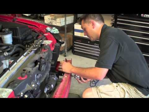 AFCO Dual Fan Heat Exchanger Installation (Part 1)