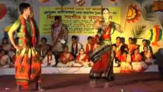 amar gorur garite bou shajia performed and choreographed by m m kamruzzaman shatu and  suha