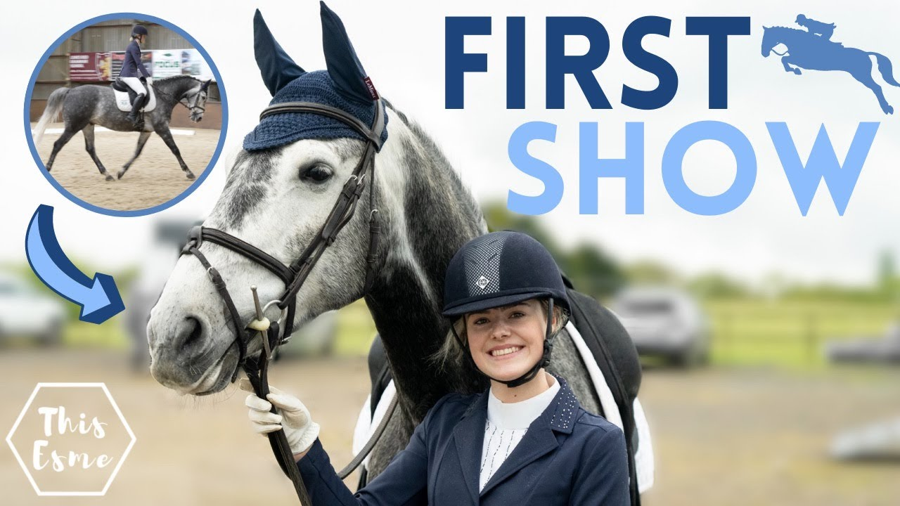 Download First Show with My New Horse! Show Jumping + Dressage AD | This Esme