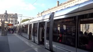 Tram state-of-the-art of Tours トゥールに2013年8月に開通したばかり...