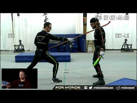 For Honor Warrior\'s Den Execution Mocap Session Excerpt - Behind the Scenes