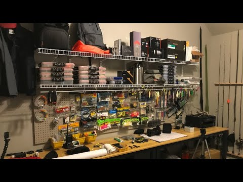 Next Level Tackle Box / Ultimate Fishing Room