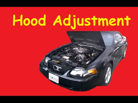 Hood Adjustment DIY Fix Crooked Alignment How To Video