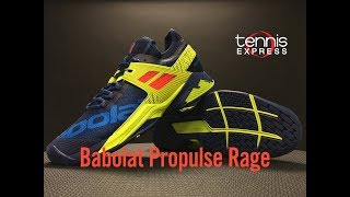 Babolat Propulse Rage Tennis Shoe Preview | Tennis Express